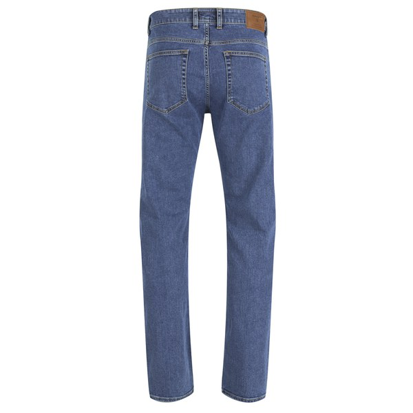 Slim Fit Blue Denim Jeans - Mid Blue Worn In GANT n7Eoa2gOS