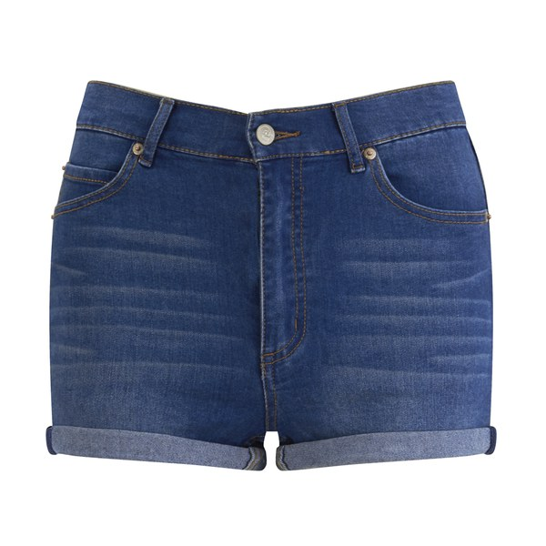 Beat the Heat in Women's Denim shorts Perfect for the warmer months, women's denim shorts provide the ideal balance between classic jeans and a cropped silhouette. Thanks to a wide range of washes, finishes, waist styles, and lengths, you'll surely find a pair .