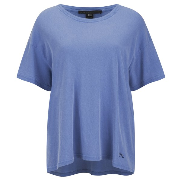 Marc by Marc Jacobs Women's Boxy T-Shirt - Conch Blue