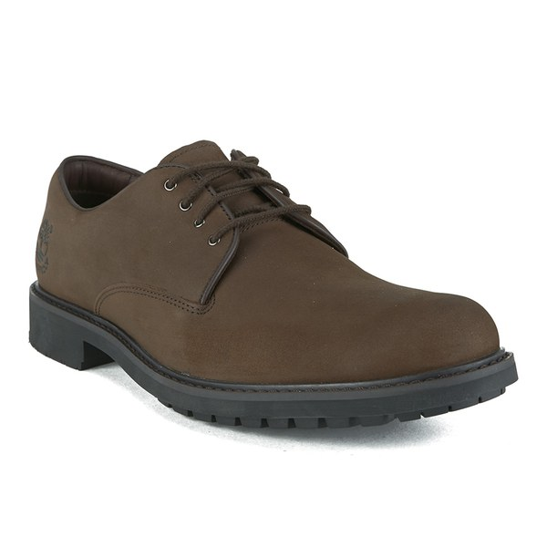 Timberland Men's Earthkeepers Stormbuck Plain Toe Oxford Shoes - Burnished  Dark Brown Oiled: Image 5