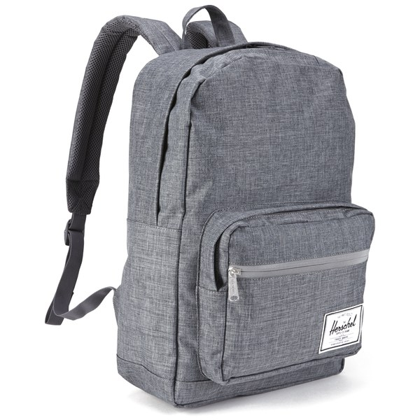 f520e57e43a9 Herschel Supply Co. Pop Quiz Backpack - Charcoal Crosshatch Black Rubber   Image 2
