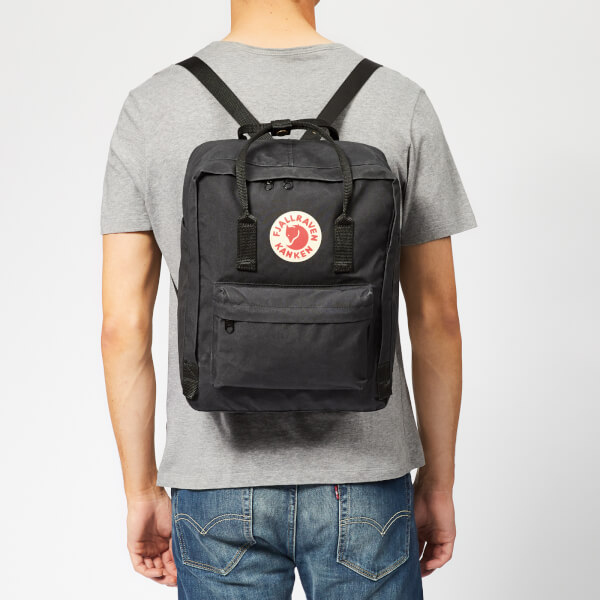 Fjallraven Kanken Backpack - Black: Image 21