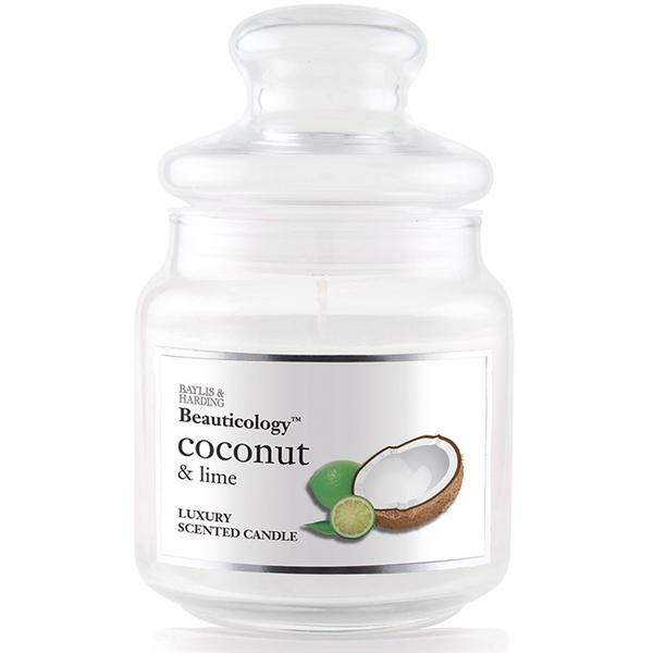 Bougie Noix de Coco et Citron Vert 1 Mèche - Baylis & Harding