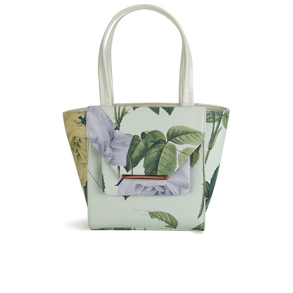 b1be1a90f955 Ted Baker Women s Damaris Distinguish Rose Crosshatch Small Tote Bag - Mint   Image 1