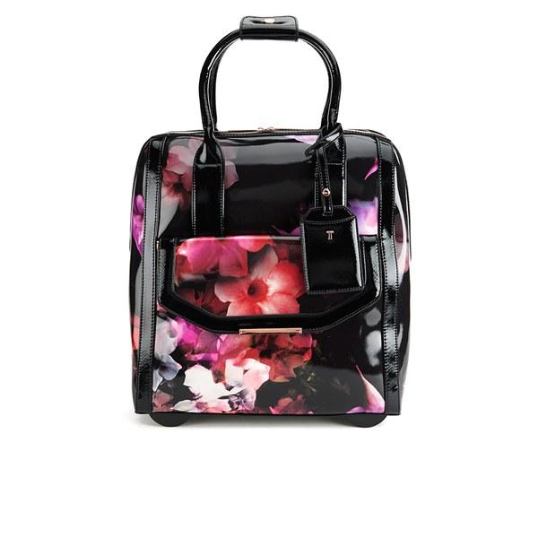32f43e6af Ted Baker Women's Connie Cascading Floral Travel Bag - Black: Image 1