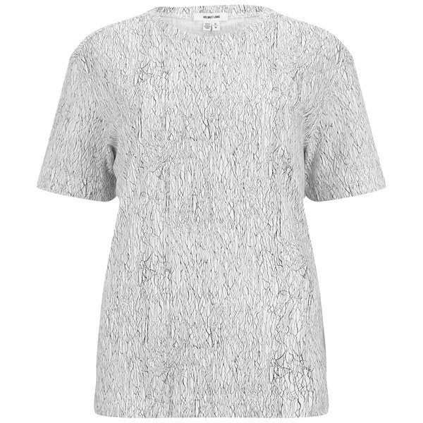 Helmut Lang Women's Lightning Print Washed Jersey T-Shirt - White