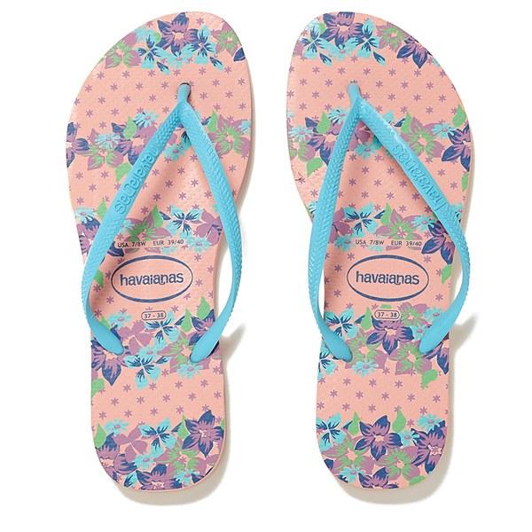 1ba8fee5ffb70e Havaianas Women s Slim Provence Flip Flops - Light Pink  Image 1