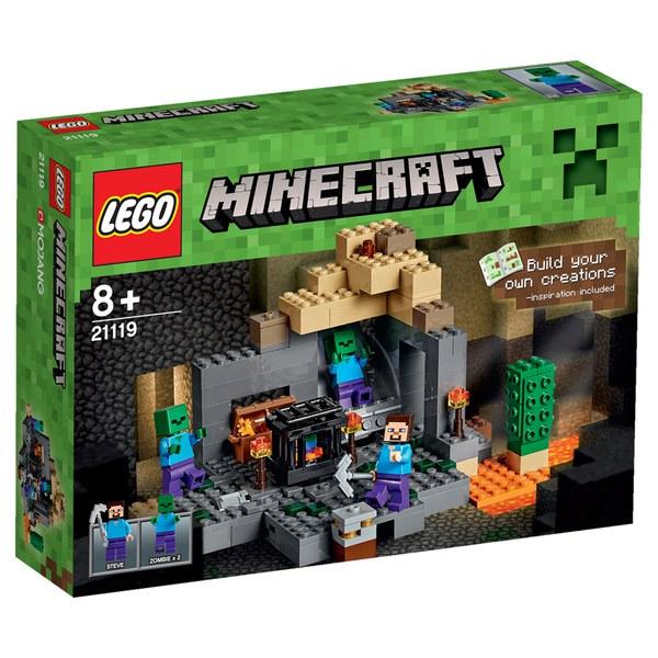 LEGO Minecraft: Le Donjon (21119)