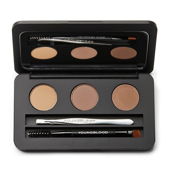 Kit de cejas Brow Artiste de Youngblood - Morena