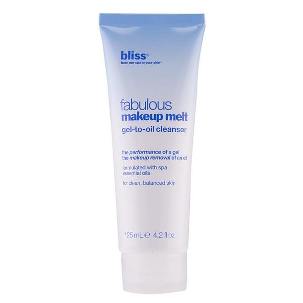 bliss Fabulous Make-Up Melt Gel-to-Oil Cleanser (125ml)