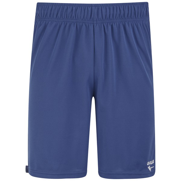 Gola Men's Field Block Football Shorts - True Blue/White