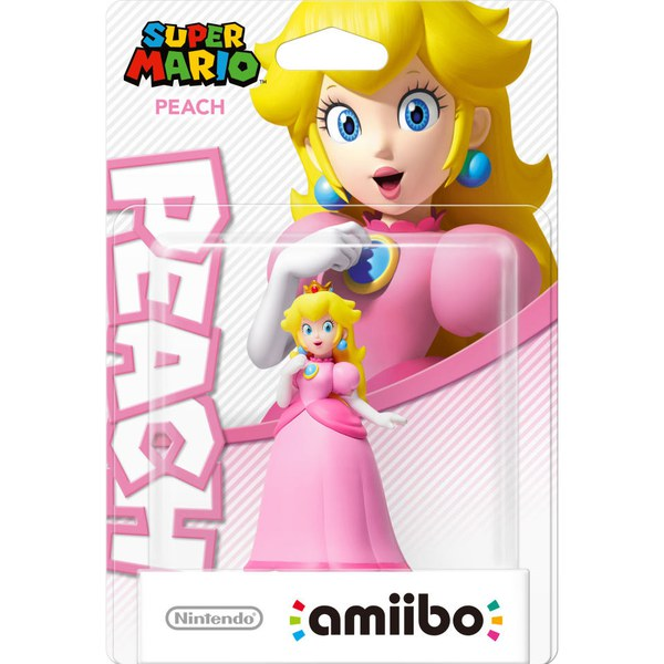 Peach amiibo (Super Mario Collection)
