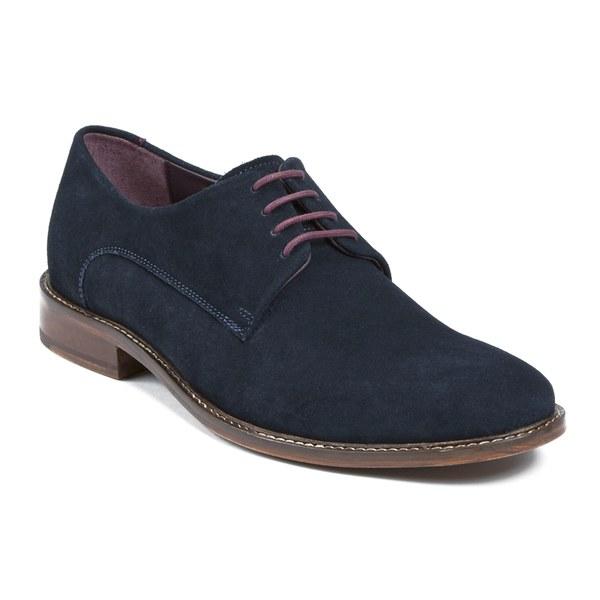 01b5dfa5e0bd Ted Baker Men s Joehal Suede Derby Shoes - Dark Blue  Image 5