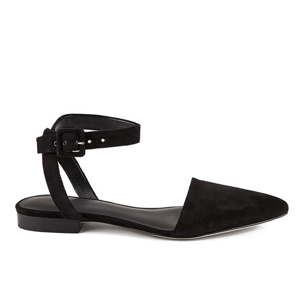 Alexander Wang Women's Lara Flat Pointed Sandals - Black