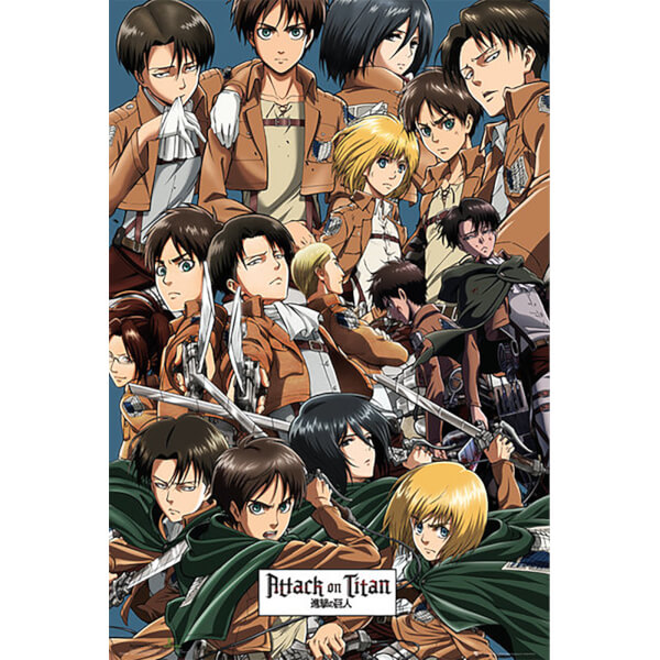 Attack on Titan Collage - Maxi Poster - 61 x 91.5cm