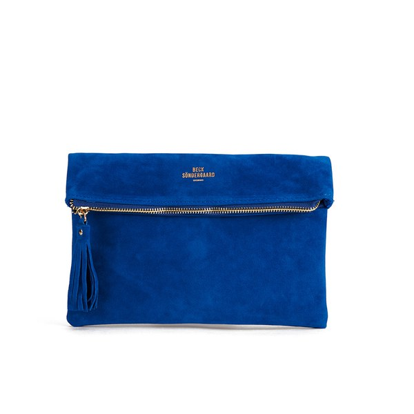 BeckSöndergaard Women's O-Lorraine Clutch Bag - Amazing Blue ...