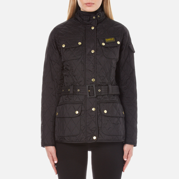 Barbour International Women's Quilted Jacket - Black