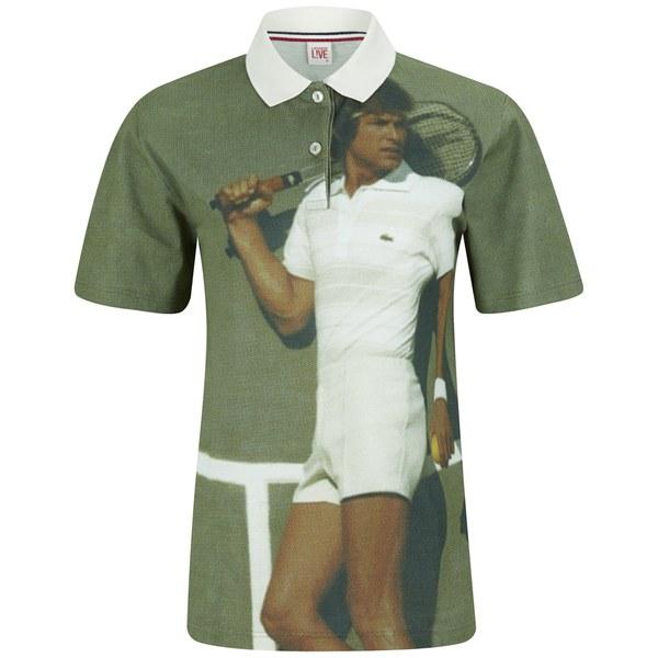 Lacoste Live Vintage Ads Women's Polo Shirt - Multi
