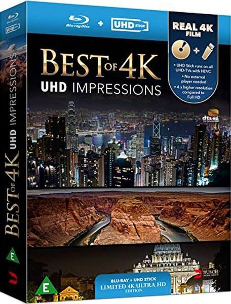 Best Of 4k Impressions Uhd Stick Amp Disc Blu Ray Zavvi