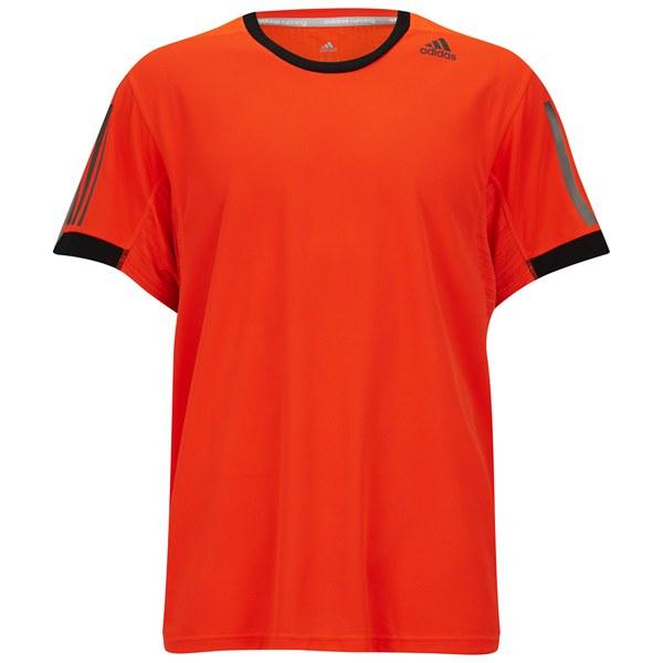 adidas Supernova Men s Short Sleeve T-Shirt - Solar Red Black  Image 1 f5a6abdd6