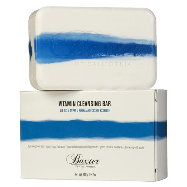 Baxter of California Vitamin Cleansing Bar Flora Cassis 7oz