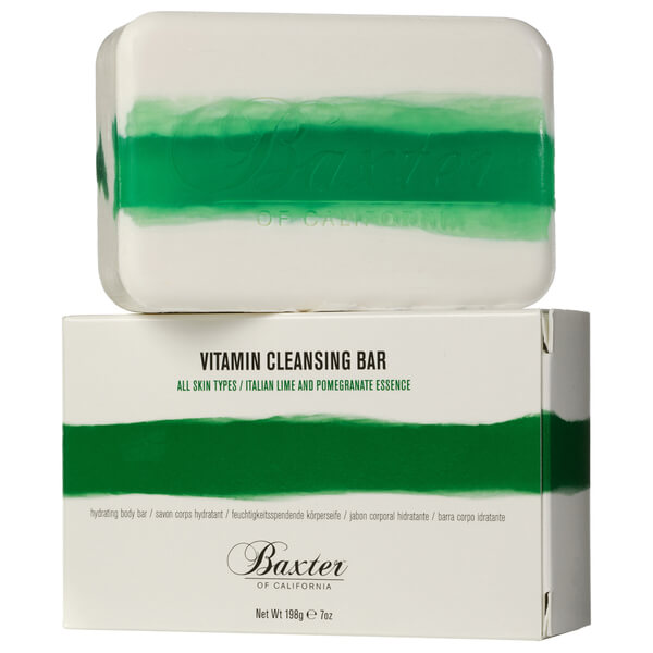 Baxter of California Vitamin Cleansing Bar - Italiensk Lime 198 g