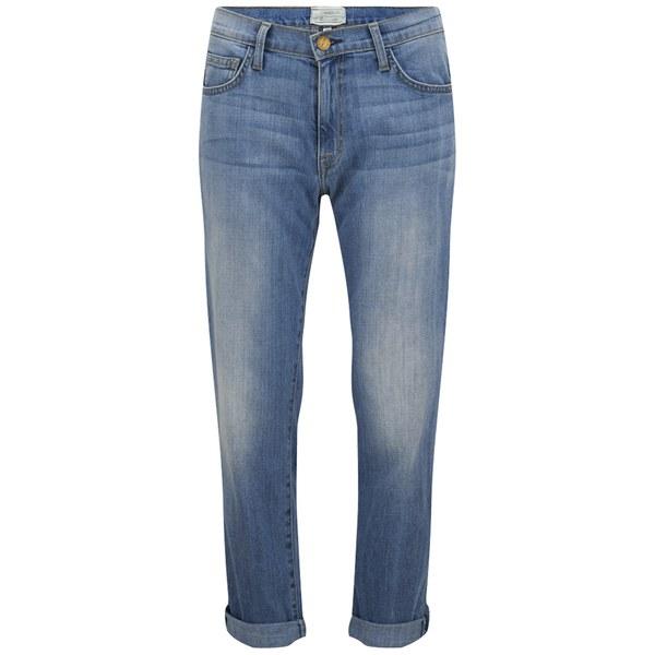 Current/Elliott Women's The Fling Slim Boyfriend Jeans - Foam