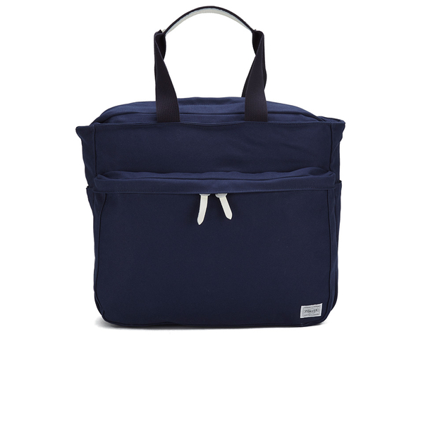 4b85c916c9 Porter-Yoshida Men s Beat Tote Bag - Navy  Image 1
