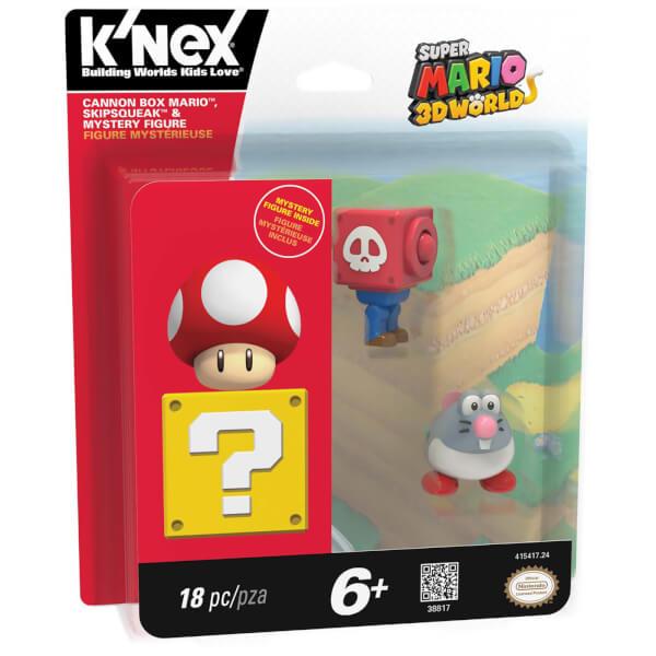 K'NEX Mario Kart: Cannon Box Mario, Draglet and Mystery (38817)