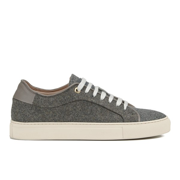 Paul Smith Shoes Women's Basso Wool Trainers - Grey