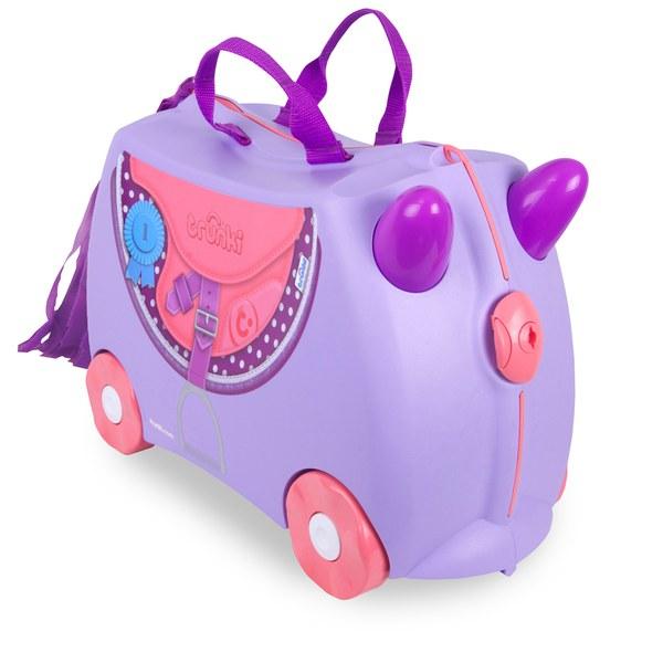 Trunki Bluebell Ride-On Suitcase - Purple