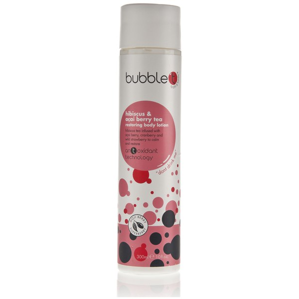 Bubble T Bath and Body Body Lotion in Hibiscus and Acai Berry Tea