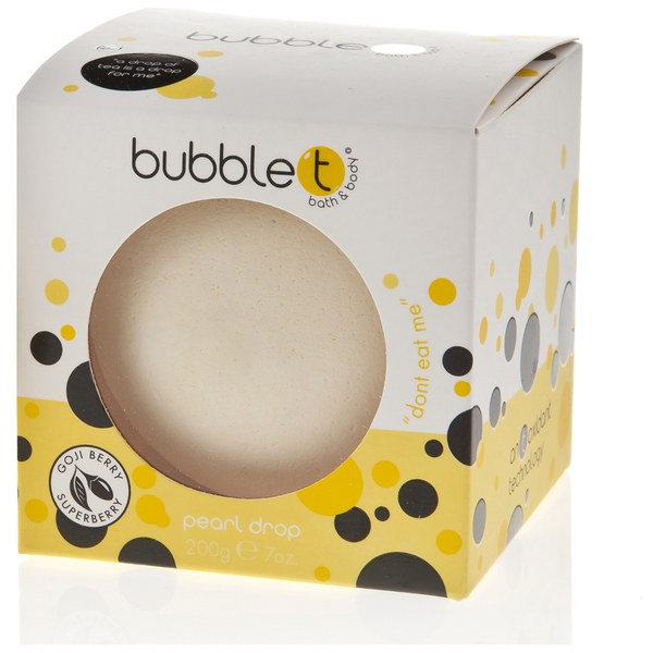 Bubble T Bath and Body Pearl Drop in Lemongrass and Green Tea (180 g)
