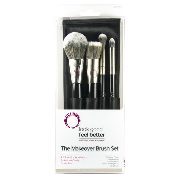 Look Good Feel Better: The Make Over Brush Set.
