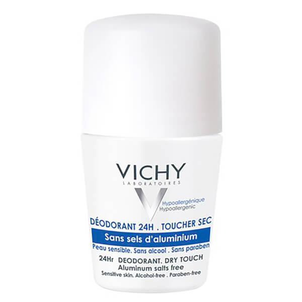 Vichy Roll-On Déodorant 24H sans sels d'aluminium 50ml