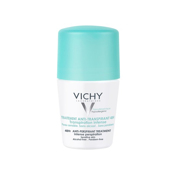 Vichy Deodorant 48Hour Intensive Anti-Transpirant Roll On 50ml