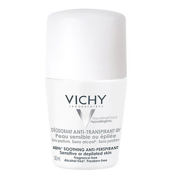Vichy Roll-On déodrant anti-transpirant 48H peau sensible 50ml