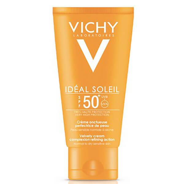 Vichy Ideal Soleil crème onctueuse perfectrice de peau SPF 50 50ml