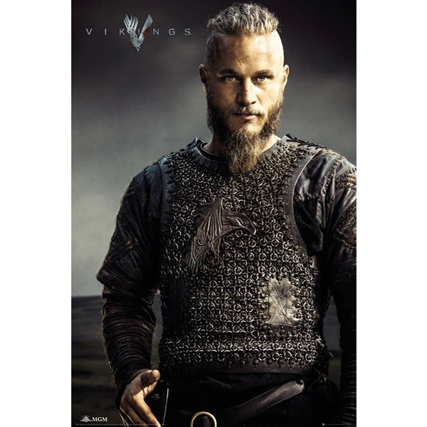 Vikings Ragnar Lothbrok - Maxi Poster - 61 x 91.5cm