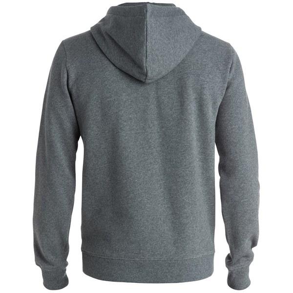 Quiksilver Men's Everyday Pop Hoody - Medium Grey Heather: Image 2