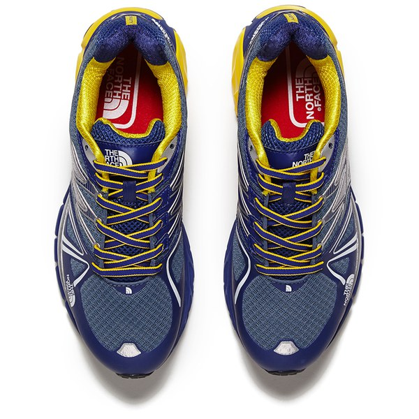 bb4c0b55ba967 The North Face Men s Ultra Equity Trail Running Shoes - Midline  Blue Yellow  Image