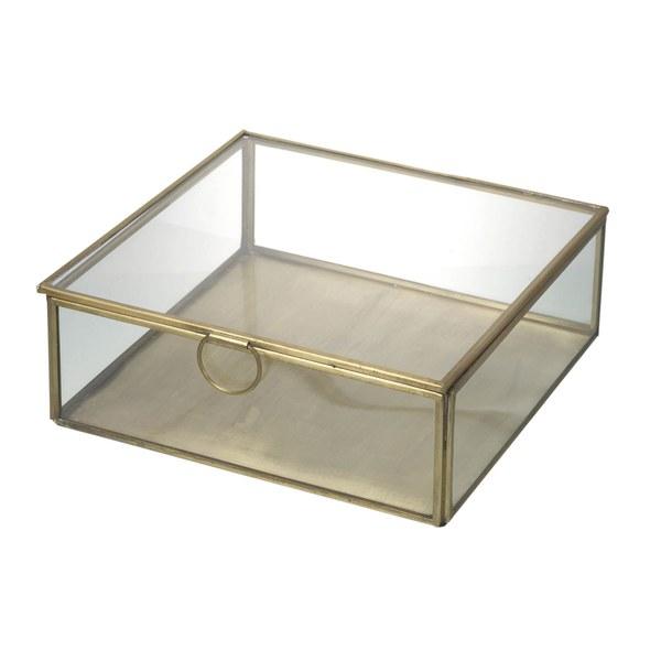 Parlane Trinket Box - Clear (70x195mm)