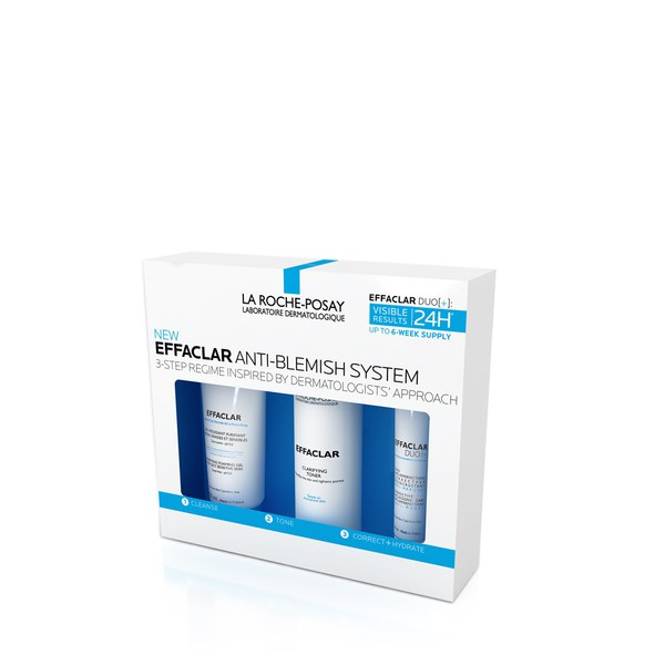 la roche posay effaclar kit free shipping lookfantastic. Black Bedroom Furniture Sets. Home Design Ideas