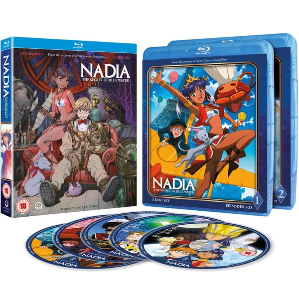 Nadia: Secret Of The Blue Water - Complete Series Collection
