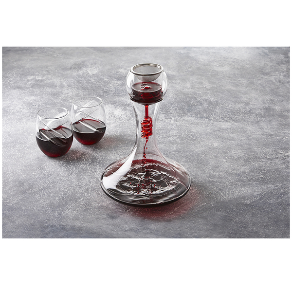 Décanteur et Aérateur pour Vin Twister