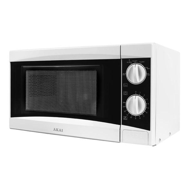 Akai A24001 Manual Microwave - White - 800W