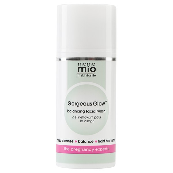 Mama Mio Gorgeous Glow Facial Wash (100ml)