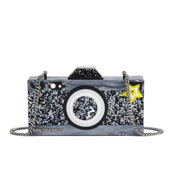 Karl Lagerfeld Seventees Women's K/Camera Clutch Bag - Black