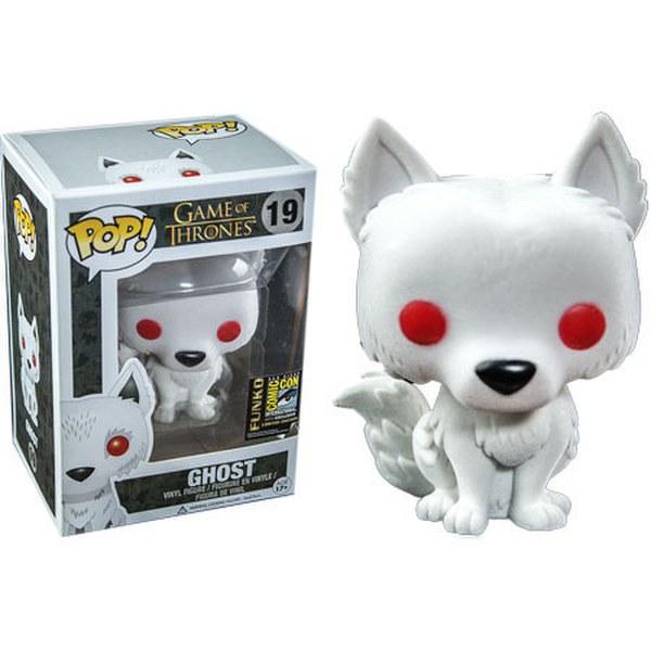 Game of Thrones Flocked Ghost SDCC 2014 Exclusive Pop! Vinyl Figure