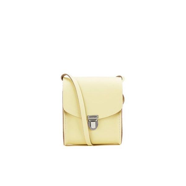 The Cambridge Satchel Company Mini Push Lock Bag - Lemon